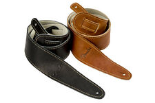 """FENDER BALL GLOVE LEATHER GUITAR STRAP 2.25""""  2-PACK"""