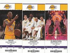 2011-12 LOS ANGELES LAKERS SEASON TICKET STUB PICK YOUR GAME KOBE BRYANT DROPBOX