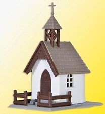 Iglesia de escala H0 Kibri para modelismo ferroviario
