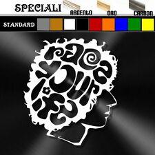 adesivo sticker SIC Simoncelli prespaziato, decal moto,casco 19,5cm