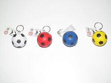 Porte Clés Moderne Gadget Keychain Balle Ballon Foot Ø 40 mm 4 Modèle au choix