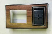 1978 – 1987 Oldsmobile LH Dash Headlight Switch Cover W/ A/C Vent Bezel TrIm OEM