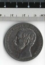 Germany Schaumburg - Lippe 1 Taler 1865 Silver Coin - Adolf Georg Furst Zu