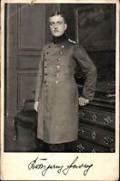 Ansichtskarte PK sw Porträt Prinz Georg v. Bayern Foto Roter-Kreuz-Tag 1914