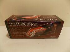 Excalibur Premium Acrylic 4 Deck Dealer Shoe Casino Poker Blackjack