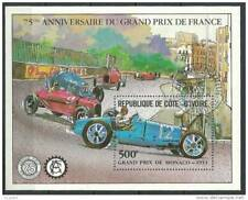 Côte d'Ivoire Bloc ob ABIDJAN 1981 500F 75ème anniv. GRAND PRIX F1 Monaco 1933
