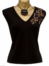 Marks and Spencer Women's Hip Length V Neck Party Tops & Shirts