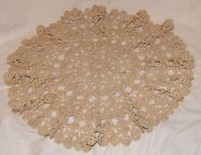 Beautiful large genuine vintage doily macrame doily 1970's ONE-OFF ITEM