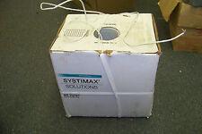 new black box systimax cbcc243186 commscope plenum cat 5e white cable 1000 ft