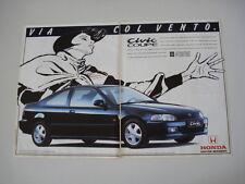advertising Pubblicità 1995 HONDA CIVIC COUPE'