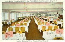Atlantic City,NJ. The Main Dining Dining Room at Hackney's Sea Food Restaurant