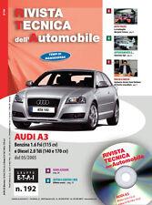 Manuale tecnico per la riparazione e la manutenzione dell'auto - AUDI A3