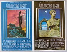 BG 178, 179 Double Postcard, Bill Graham Fillmore West THE WHO, more,  1969