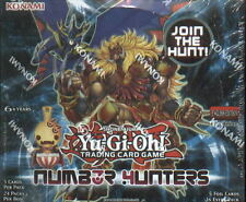 Yu Gi Oh Number Hunters Factory Sealed Booster Box