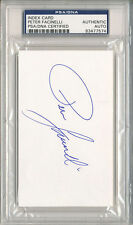 PSA/DNA SIGNED INDEX CARD PETER FACINELLI 7574