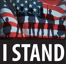 I stand for flag, nfl boycott, freedom, vetrans,respect