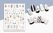 Nail Art 3D Decal Stickers Tribal Feathers Arrows Dreamcatcher Boho Style CA011