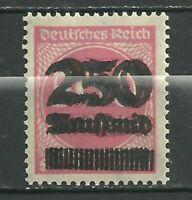 1923 German Hyper inflation Doubled Over Print Error Stamp .3