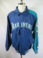 E5511 VTG 90s STARTER Seattle Mariners MLB Baseball Jacket Size L