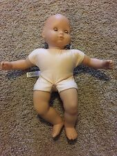 Retired American Girl Bitty Baby Diaper Changing Table White Pink  Plus Baby