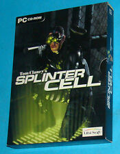 Splinter Cell - PC - 3 CD - Slipcase