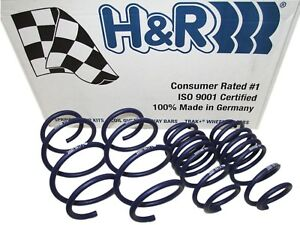 H&R SPORT LOWERING SPRINGS 12-13 MERCEDES W166 ML350 GAS W/O SELF-LEVEL