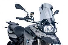 PUIG TOURENSCHEIBE MIT VISIER BMW F650 GS 2012 RAUCHGRAU