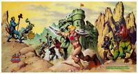 He-Man  POSTER #23  Masters of the Universe  *AMAZING ARTWORK*  He Man