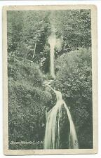 ISLE OF MAN - DHOON WATERFALL near LAXEY Raphael Tuck /I.O.M Times Postcard
