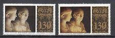 VATICANO 1977 Musei Vaticani L. 130 VARIETA' STATUE CON VOLTI BIANCHI + CAMPIONE
