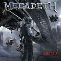 MEGADETH Dystopia BANNER HUGE 4X4 Ft Fabric Poster Tapestry Flag Print album art