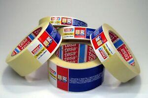 tesa 4348 Masking Tape - 7 Days, Indoor Use, Clean Edges (25 / 38 / 50mm x 50m)