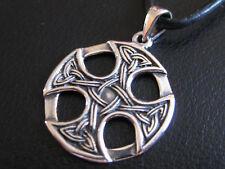 Keltischer Knoten 925'er Silber Ketten Anhänger Keltenknoten / KA 174