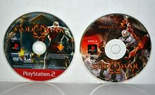 God of War II (Sony PlayStation 2, 2007) GOW 2 ~ 2-Disc PS2 Video Game Set ~