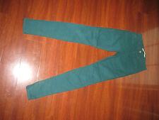 Joe's Jeans Skinny Fit PFD Dark Tag Size 27 True Measurements 27 X 34 1/2 Green