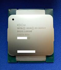 New Intel Xeon E5 2685 V3 QS SR1Y9 (QGPK) 12C 2.6GHz 12T 30M 120W LGA2011-3