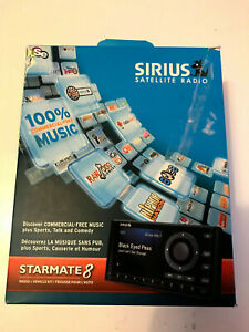 Sirius XM Starmate 8 Satellite Radio Receiver Vehicle Kit Open Box SST8C