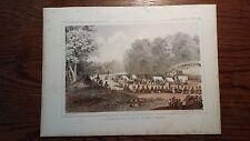 "Lithograph "".. GROS VENTRES"" /John Mix Stanley / 1860 Railroad Survey Report"