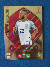 Panini Adrenalyn XL World Cup Russia '18 Raheem Sterling England Limited Edition