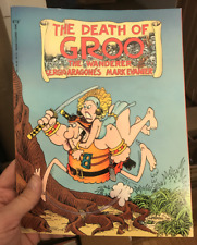 The Death of Groo The Wanderer 1987 Sergio Aragone's Softcover Book Humor