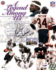 "WALTER PAYTON AUTOGRAPHED SIGNED 8X10 PHOTO BEARS ""SWEETNESS"" PSA/DNA 19781"