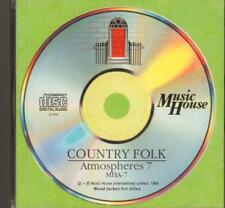 Music House(CD Album)Country Folk: Atmospheres 7-VG