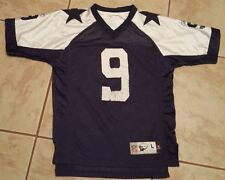 Vintage Dallas Cowboys Tony Romo #9  Thanksgiving Throwback Jersey - Youth LARGE