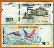Honduras, 200 Lempiras, 2021, P-New, UNC > Commemorative, Independence