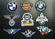 BMW CAR MOTORCYCLE RACING BIKER SPORT M POWER Embroidered Patch Iron On Sew Logo
