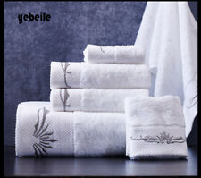 3 pc cotton shower 70x140cm spa bath towel Bathroom beach Towels unisex USA5