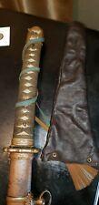 Tsuka Handle Cover Gunto WW2 Japanese Army Katana Leather
