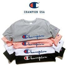 6d9cd8448c719f De Champion Tops Herren Damen Kurzarm Ärmel T-shirt Kurze Kurzarm Tee Gr.S