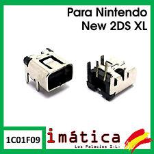 CONECTOR DE CARGA PARA NINTENDO NEW 2DS XL POWER JACK USB SOCKET PUERTO