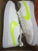 Nike Blazer Low POP (GS) Size UK 4.5  EUR38 White Lime AQ5604 101